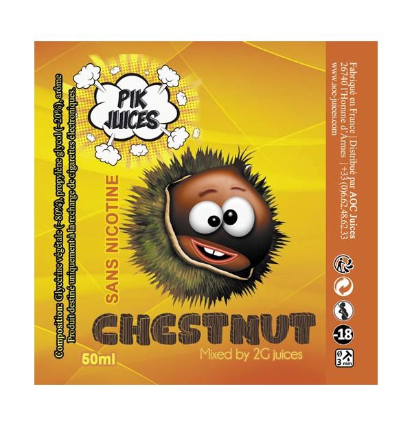 Chestnut Pik Juices by AOC Juices