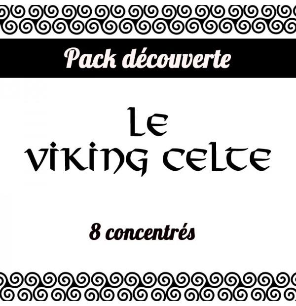 Pack découverte des 8 saveurs de la marque Viking Celte