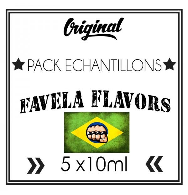 Pack échantillons (10ml) - Favela Flavors
