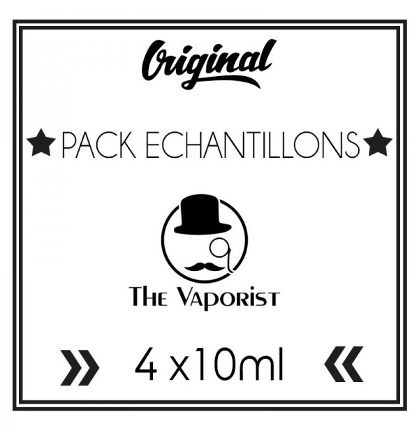 Pack ECHANTILLONS The Vaporist (10ml)