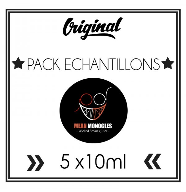 Pack ECHANTILLONS - Mean Monocles