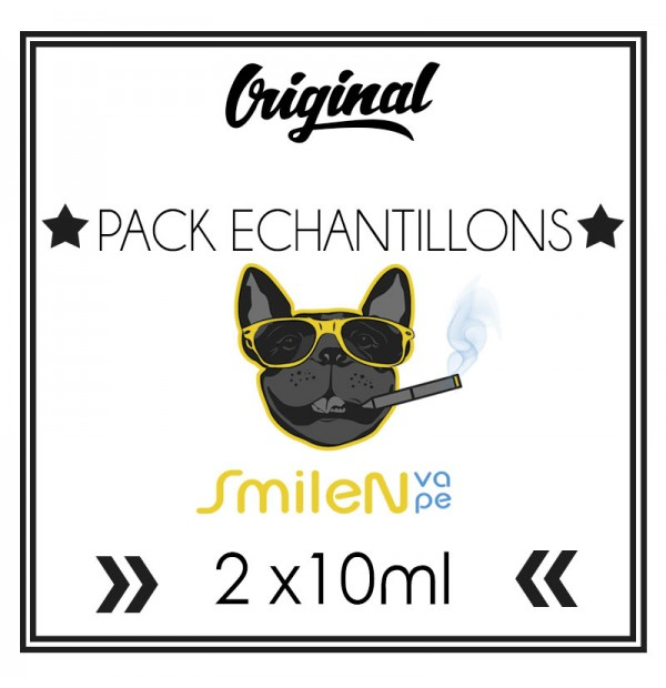 Pack ECHANTILLONS (10ml) - Smile n' Vape