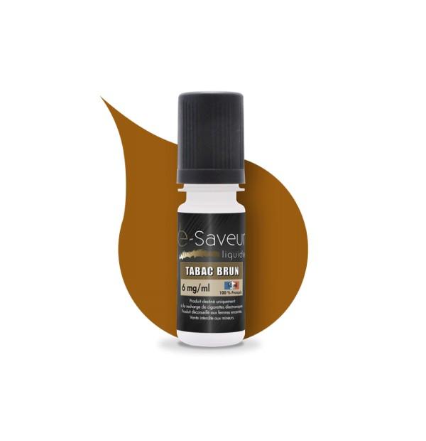 E-liquide Tabac brun x5