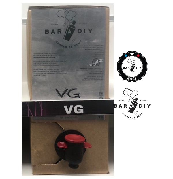 "BiB ""Bag in Box"" 3 Litres en Full VG par BAR A DIY"