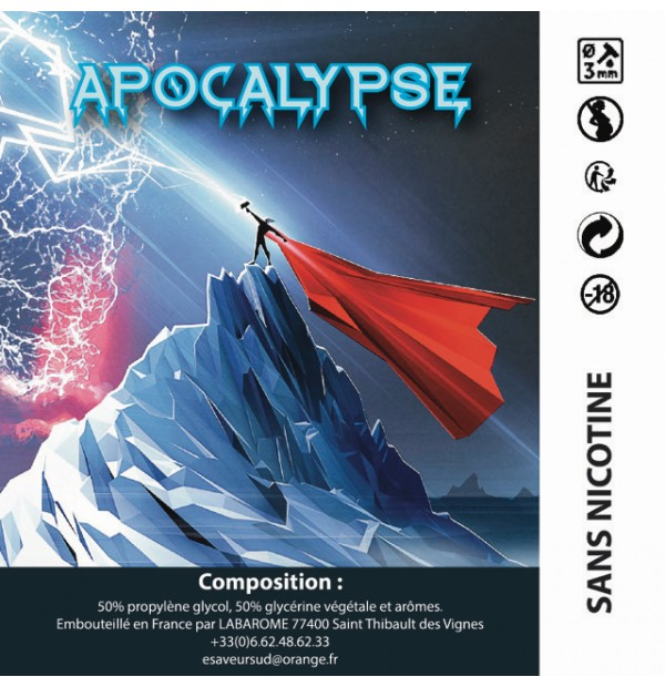 Apocalypse 50 ml by AOC JUICES