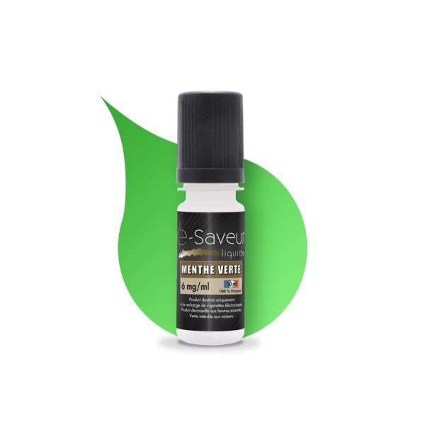 E-liquide Menthe Verte 10ml (x5)