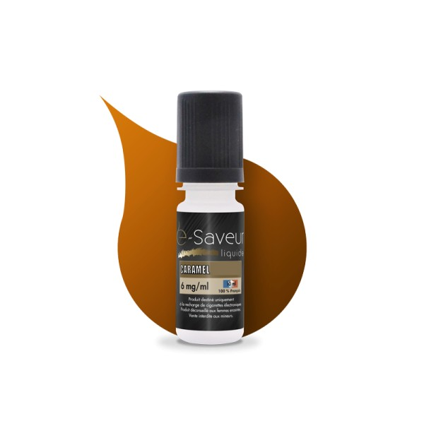 E-liquide Caramel 10ml (x5)